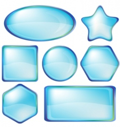 icons buttons vector image