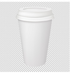 Paper glass vector