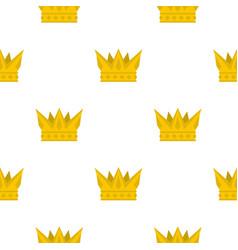 cog crown pattern flat vector image