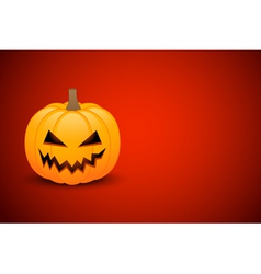 Halloween card or banner vector image vector image