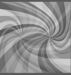 Abstract double spiral background - from rays in vector