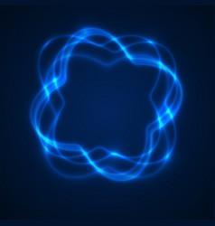 Abstrat light background swirl trail effect vector