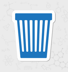 Basket icon vector