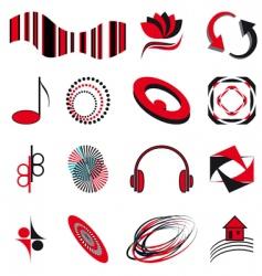 business symbols vector image