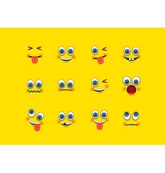 Emoji set vector