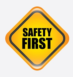 safety design vector image