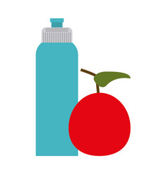 sports bottle icon image vector image