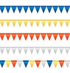 Bunting Garland Set 2 vector image