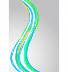 vector abstract striped background vector image vector image