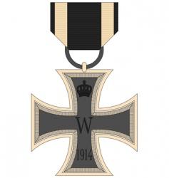 German iron vector image vector image