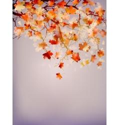Beautiful autumn background EPS 10 vector