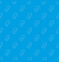 flexible tablet pattern seamless blue vector image