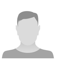 Person gray photo placeholder man vector