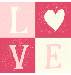 Typographic vintage design greeting card vector
