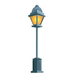 street light lamp vector image