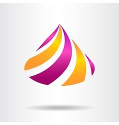 Abstract logo 09 002 vector