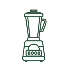 Blender machine household appliance vector