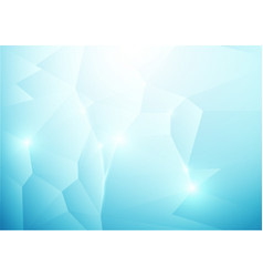 Blue abstract low polygonal background vector