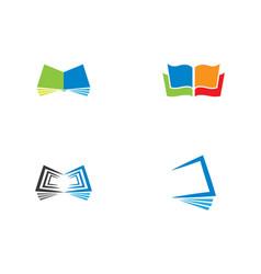 book symbol icon vector image