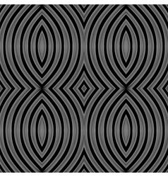 Design seamless monochrome lines background vector