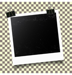 Photo frame template vector