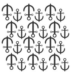 Anchor nautical travel maritime seamless pattern vector
