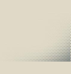 2d geometric two colors cross halftone pattern vector