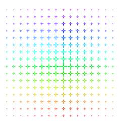 collide arrows shape halftone spectral grid vector image