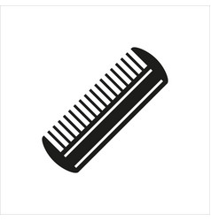 Comb icon isolated on white background vector