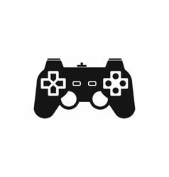 Game controller icon simple style vector image