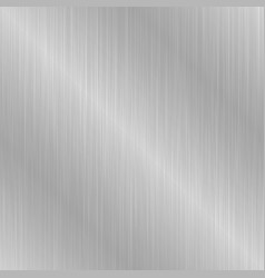 Gray seamless metallic texture vector