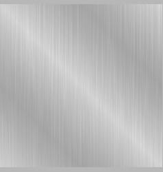 Gray seamless metallic texture vector