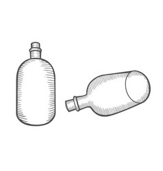 potion bottle vector image