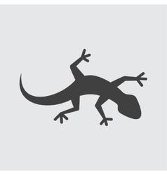 Lizard icon vector image