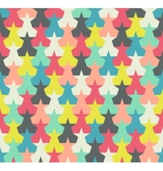 Seamless pattern Colorful abstract stars vector image vector image