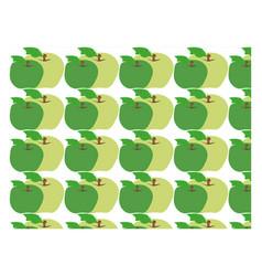 apple wallpaper on white background vector image