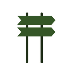 icon signboard vector image