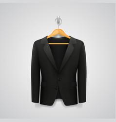 jacket on a hanger vector image