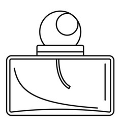 men perfume icon outline style vector image