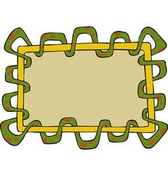 Snake frame vector