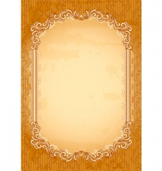old-fashioned background vector image vector image