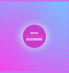 abstract colorful background with dots vector image