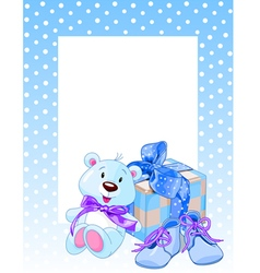 Blue Bear vector