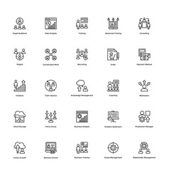 Business and finance line icon 26 vector