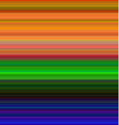 Colorful horizontal gradient stripe background vector