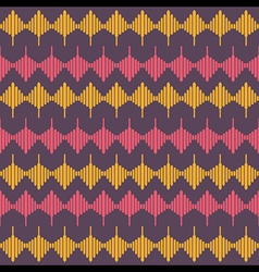 creative retro abstract shape design pattern vector image