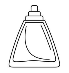 Deodorant bottle icon outline style vector