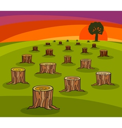 Environmental protection cartoon vector