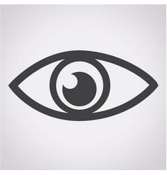 eye icon vector image