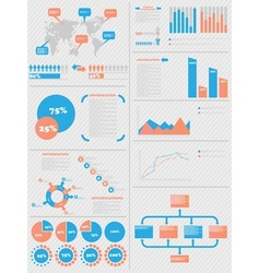 INFOGRAPHIC DEMOGRAPHICS 5 vector image